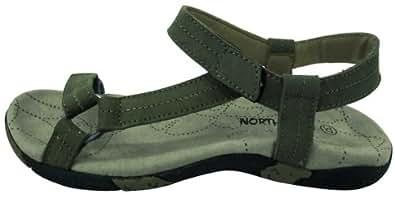 Northland Professional Istrana Leather Ls Sandal 02-05295 Damen Sandalen, Grün (torf 0), EU 36