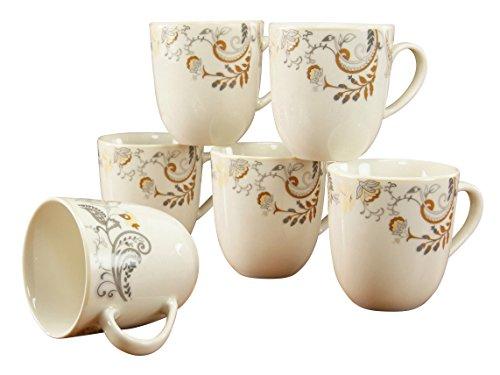 CreaTable 16660, Serie Palacio, Geschirrset Kaffeebecher 6 teilig
