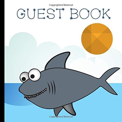 rk Party Guest Book Includes Gift Tracker and Picture Pages For a Lasting Memory Keepsake (Baby Shark Birthday Party Supplies,Baby Shark Party Decorations, Band 1) ()