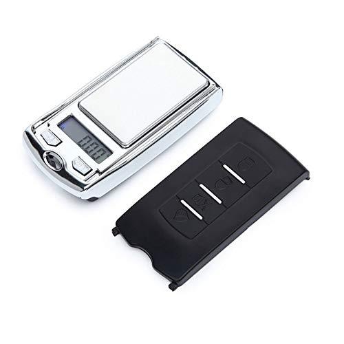 DuDuDu Échelles de Poids minis LCD Digital Pocket Scale Bijoux Or pondération échelle gramme Balance électronique comme Voiture Touche 100g / 200g * 0,01 G