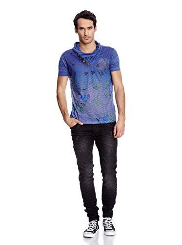 Redbridge by Cipo&Baxx T-Shirt Top Super Optik Grössen S-M-L-XL Blau