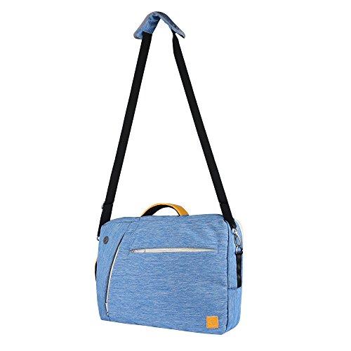 4in Heavy Duty Air (Vangoddy 4in 1Hybrid Rucksack/Tasche/Messenger Bag/Tote, Laptop Tragetasche für Apple iPad Pro 12,9/MacBook Air 33,8cm/MacBook Pro 33,8cm Denim-Blau)