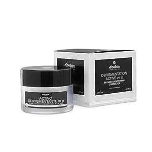 D´Bullón Crema facial Anti-Manchas con Activo Despigmentante Blanqueador y Corrector, con Protección SPF 20 – 50 ml…