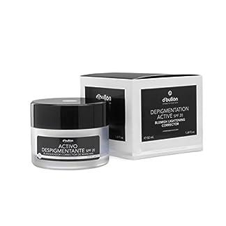 D'Bullón Profesional Crema Anti-Manchas con Activo Despigmentante Blanqueador y Corrector, Con Protección SPF 20-50 ml