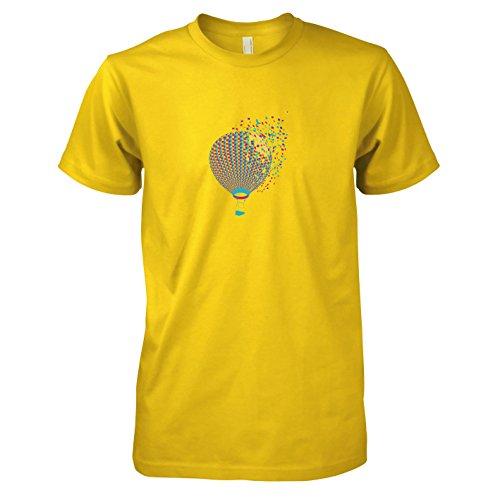 Krysom - Color Balloon - Herren T-Shirt, Größe XXL, gelb