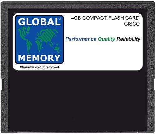 Cisco-memory Card (4GB Compact Flash Card Speicher für Cisco 1941/2901/2911/2921/2951/3945ROUTERN (mem-cf-4gb))