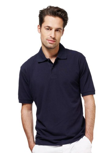 Piqué Poloshirt Royal Blue