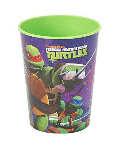 Teenage Mutant Ninja Turtles 16 oz Plastic Party Cup, All TMNT, Party Supplies