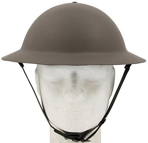 MFH Brit. Tellerhelm Tommy, WW II, Oliv (Die Britische Polizei Kostüm)