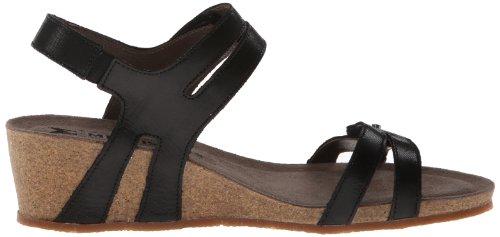Mephisto Womens Minoa Leather Sandals Noir
