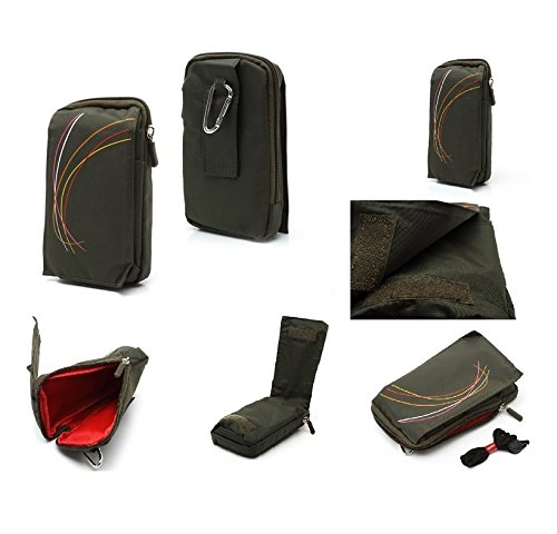 dfv-mobile-multi-functional-universal-vertical-stripes-pouch-bag-case-zipper-closing-carabiner-for-e