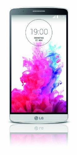 Foto LG G3 Smartphone, display Quad-HD-IPS-Display 5,5 pollici, Processore Quad-Core 2.5 GHz, Fotocamera 13 MP, Memoria 16 GB, Android 4.4, Bianco [Germania]