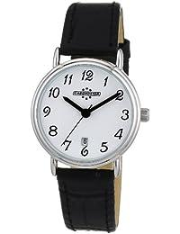 Chronostar - R3751123645 - Forever - Montre Femme - Quartz Analogique - Cadran Blanc - Bracelet en Cuir Noir