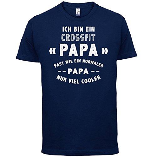 Ich bin ein Crossfit Papa - Herren T-Shirt - 13 Farben Navy