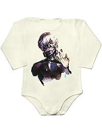 Kaneki Ken Portrait Baby Long Sleeve Romper Bodysuit
