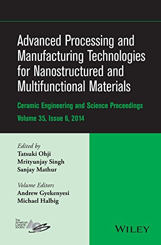 advanced-processing-and-manufacturing-technologies-for-nanostructured-and-multifunctional-materials-