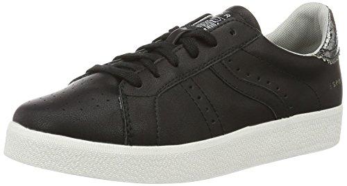 Esprit Gweneth, Sneakers Basses Femme Noir (001 Black)
