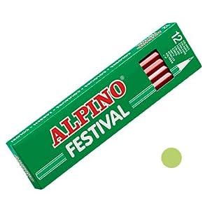 Alpino C0130008 – Caja, 12 unidades, color verde claro