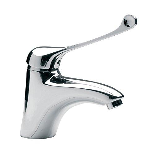 Hygienearmatur Waschtischarmatur Klinikarmatur Badarmatur Waschbecken Wasserhahn mit langem Hebel