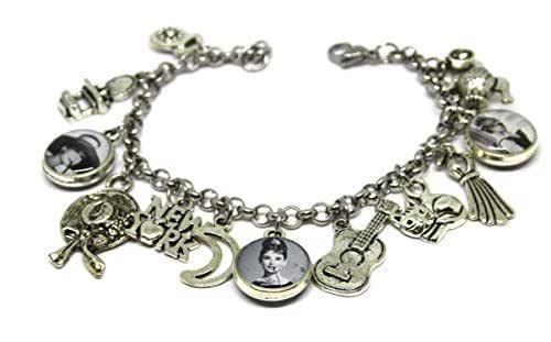 Braccialetto Audrey Hepurn - Bracciale Charms - Audrey Hepburn - Charms - Ciondoli