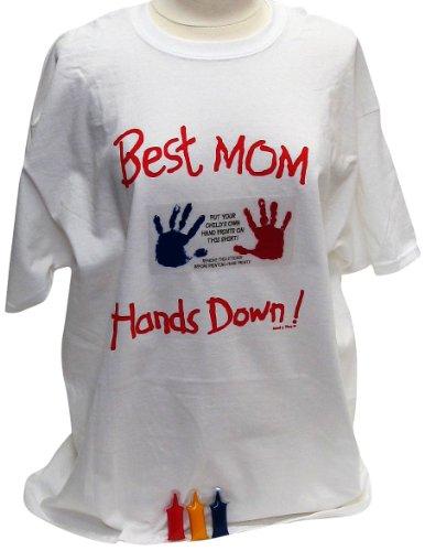 Handlich Tees Mom T-Shirt, Große (Tee Handabdruck)