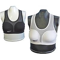 Danrho Top für Damen Brustschutz weiß-schwarz