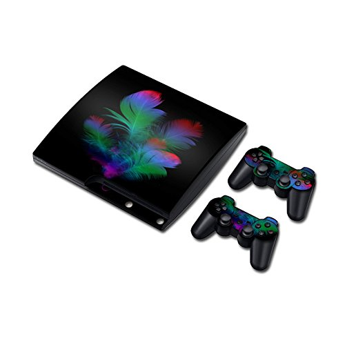 Preisvergleich Produktbild Laixing Skin Vinyl Decal Cover fur PS3 PlayStation 3 Slim+2 Controller