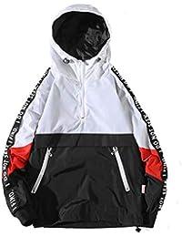 Beladla Hombre Manga Larga Sudadera con Capucha Chaquetas Tops Chaqueta Abrigo Ropa Jacket