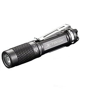 DOGZI Led Taschenlampe Set Verstellbar, Baumarkt Eisenwaren - JETbeam JET-U (JET-μ) Cree XP-G2 135LM Tragbare Wasserdichte LED-Taschenlampe