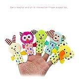 Best Vovotrade Livres Pour Bébés filles - Vovotrade® 5 Pcs Animaux Marionnettes Doigt Chiffon Poupée Review
