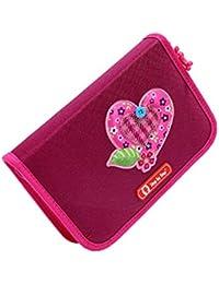 """HAMA 001292910000 Step by Step crayon cas étui à crayons trousse scolaire """"TWEEDY HEARTS"""" 3D avec des équipements"""