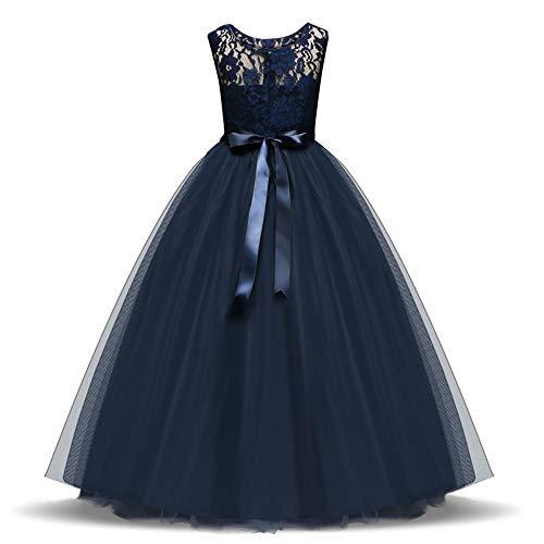 tzenkleid Mädchen Kinder Party Hochzeitskleid Prinzessin Kleid Mädchen Kostüm 8 Farben ()