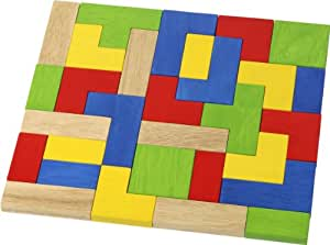 Voila Wooden Shape Stacking Puzzles