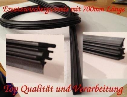 2 x 700mm Scheibenwischer Ersatz Gummi für Bosch Aerotwin Wischergummi