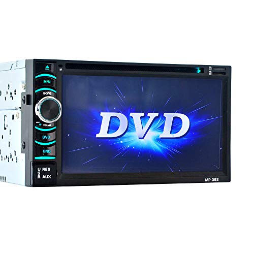 WWCAR 6,2 Zoll doppelte Barren HD TFT Touch Screen Bluetooth Auto DVD Auto Player bei der Umkehr Priorität