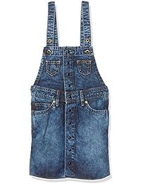 Pepe Jeans Fairy Jr, vestido Niños, Azul (Denim), 12 años