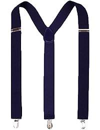 Adjustable Elastic Suspenders for Men and Women