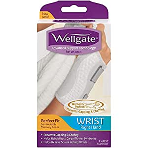 Wellgate for Women PerfectFit Wrist Support, Right Hand