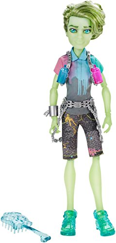 Puppen Monster High Geist (Mattel Monster High CGV19 - Verspukt Geisterschüler Porter Geiss Puppe)