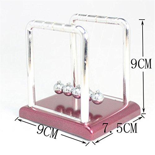 SHINA Newton Stahl Balance Ball Physik Wissenschaft Pendulum Schreibtisch Spaß-Spielzeug-Geschenk