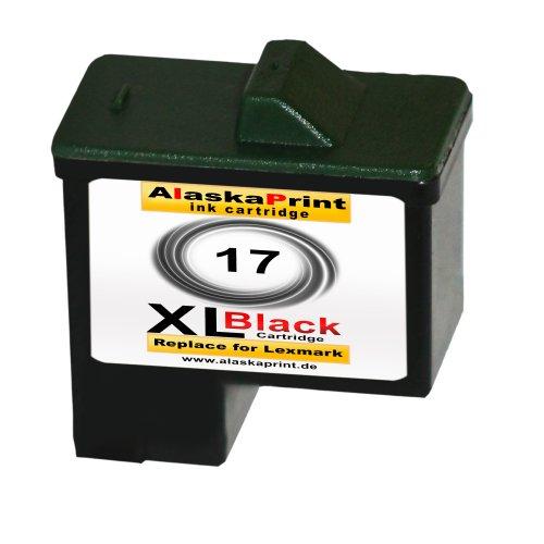Druckerpatronen Schwarz ersetzen Lexmark Nr. 17
