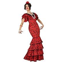Atosa - 15587 - Disfraz Flamenca Rojo - talla XS-S - Color Rojo para