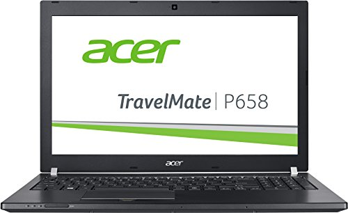 Acer TravelMate P658 (P658-M-547D) 39,6cm (15,6 Zoll Full HD IPS) Notebook (Intel Core i5-6200U, 8GB RAM, 256GB SSD, Intel HD Graphics 520, Win 10 Home) schwarz