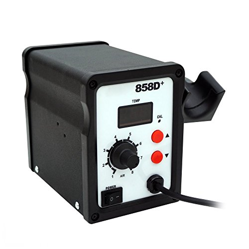 Blower Air Hot (DCHOUSE 858D SMD Hot Air Gun Rework Station Soldering Desoldering Air Solder Blower Gun)