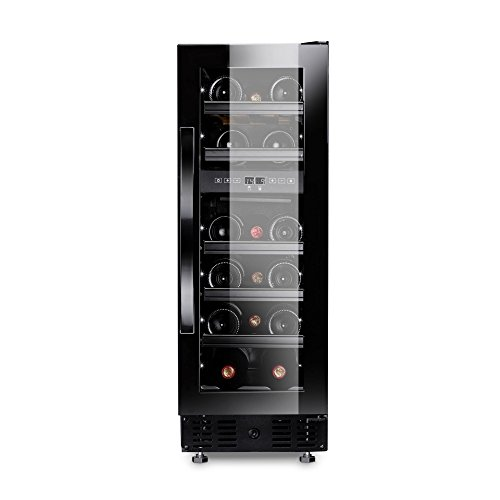 Dometic MaCave S16FG - Weinschrank, 16 Flaschen, Weinkühlschrank mit zwei Temperaturzonen, Getränke-Kühlschrank mit Glastür