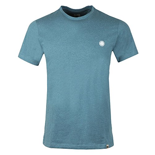 Pretty Green Marl T Shirt in Blue Large (T-shirt Edward Light)