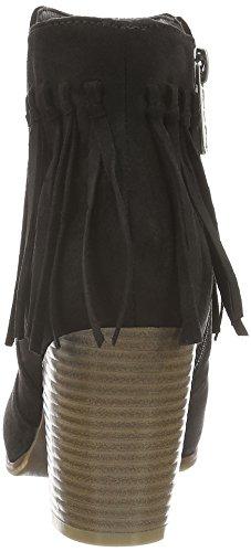 Fritzi aus Preußen Damen Hh16fap08 Kurzschaft Stiefel Schwarz (Black)