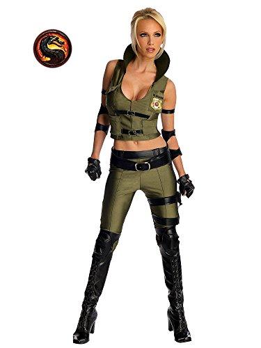 Mortal Kombat Sonya Blade Kostüm - Gr. (Kostüme Sonya Mortal Kombat)