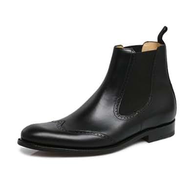 Barker Luxembourg Noir Chelsea Boots, UK 11