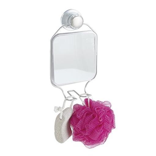 Accessori Da Bagno Con Ventosa.Mdesign Specchio Con Ventosa Accessori Doccia Per Rasatura